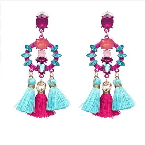 Long Earrings-21004