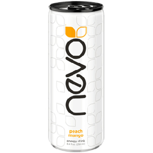 Nevo Peach Mango Energy Drink (OUT OF STOCK UNTIL 11/19/18)