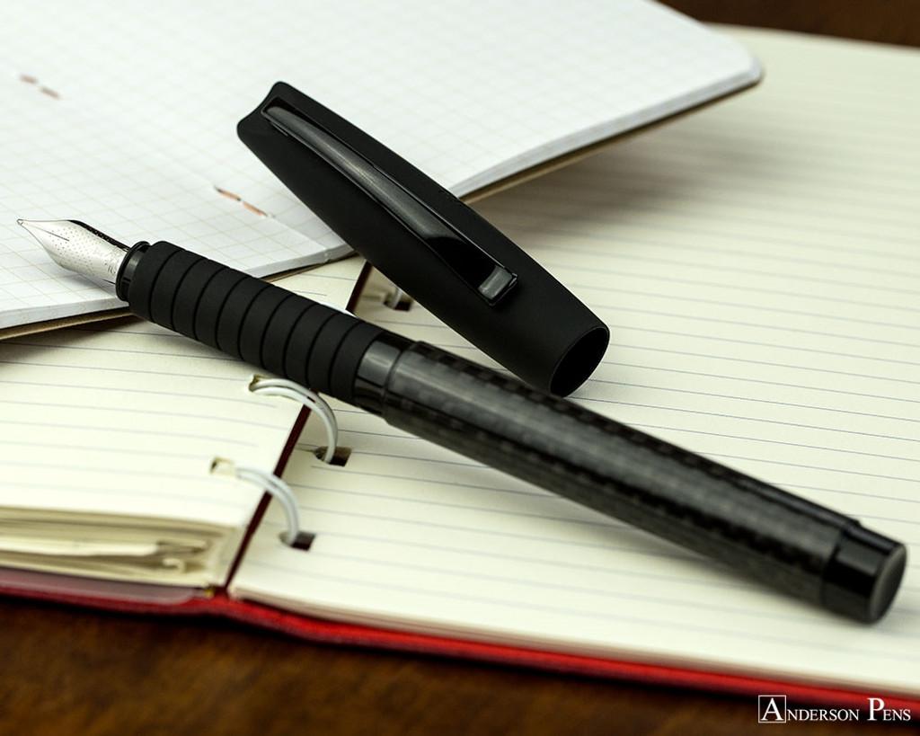Faber-Castell Basic Black Carbon Fountain Pen