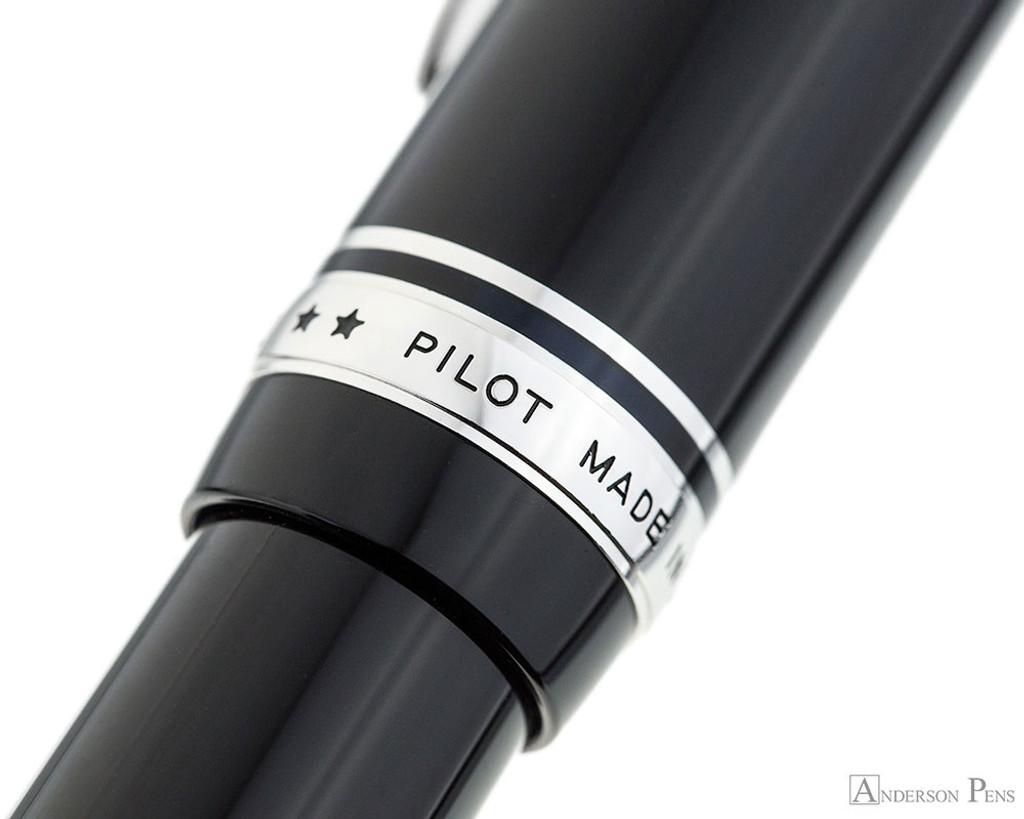 Pilot Custom 912 Fountain Pen - Black, Music Nib