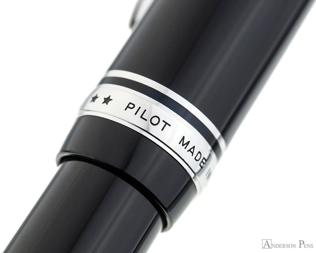 Pilot Custom 912 Fountain Pen - Black, Waverly Nib