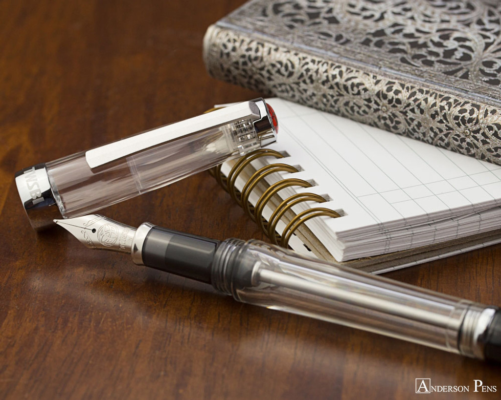 TWSBI Vac 700R Fountain Pen - Clear