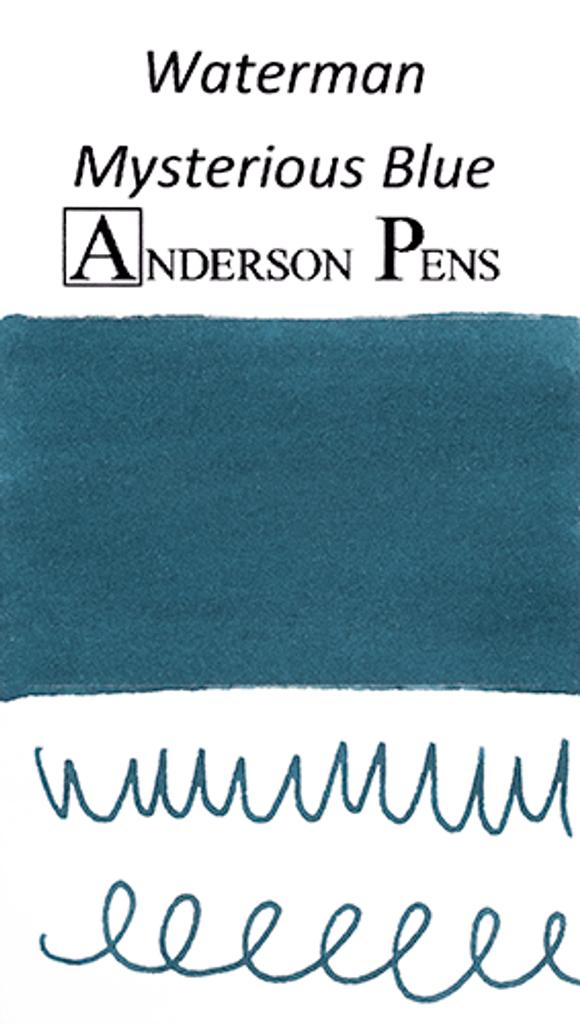 Waterman Mysterious Blue Ink Sample (3ml Vial)