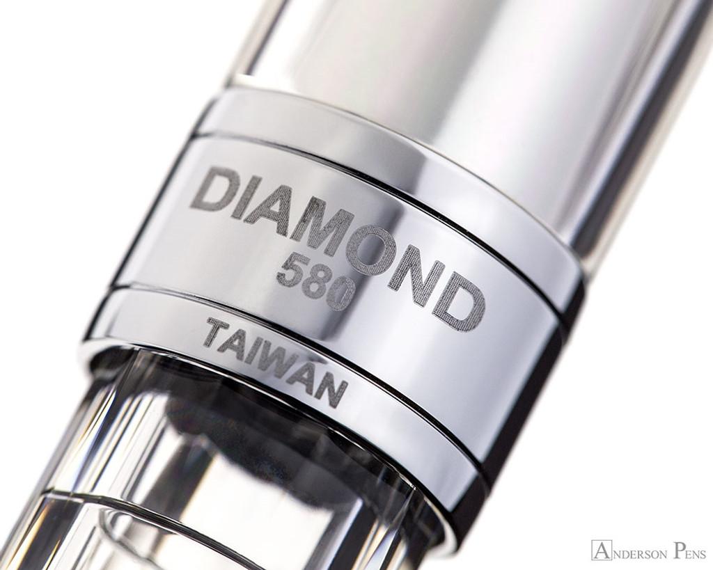 TWSBI 580AL Fountain Pen - Silver