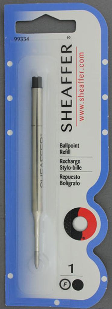 Sheaffer Black Fine Ballpoint Refill