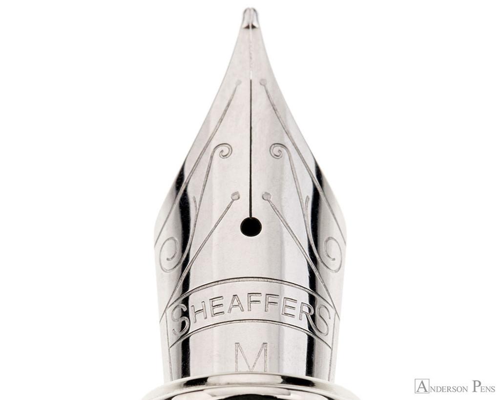 Sheaffer 100 Fountain Pen - Brushed Chrome