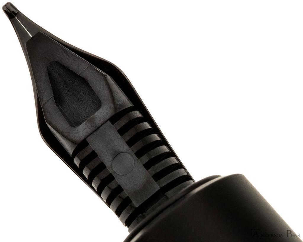 Faber-Castell e-motion Fountain Pen - Pure Black, Medium Nib