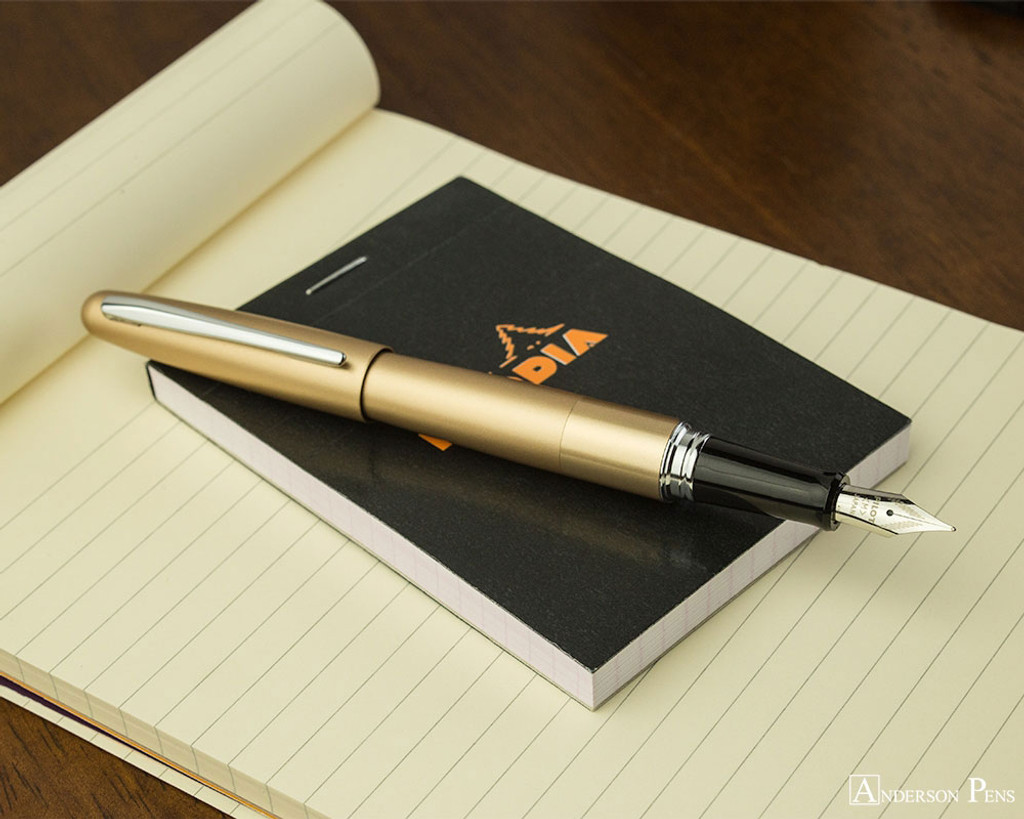 Pilot Metropolitan Fountain Pen - Gold Plain