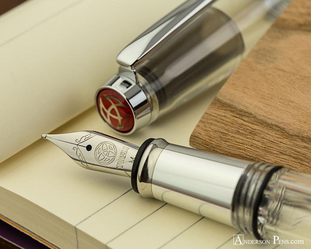 TWSBI Mini AL Fountain Pen - Silver