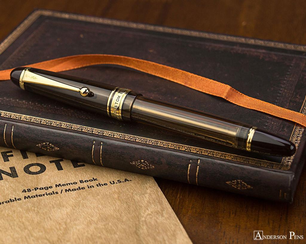 Pilot Custom 823 Fountain Pen - Amber
