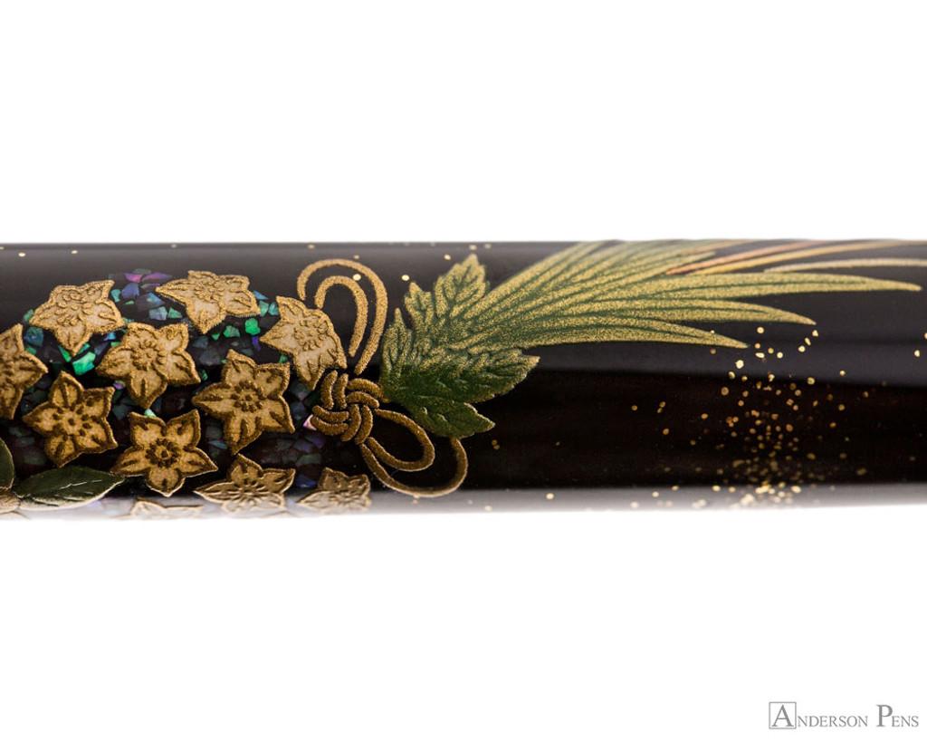 Namiki Yukari Maki-e Fountain Pen - Herb Decoration