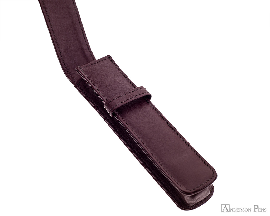 1 Pen Case Brown Leather