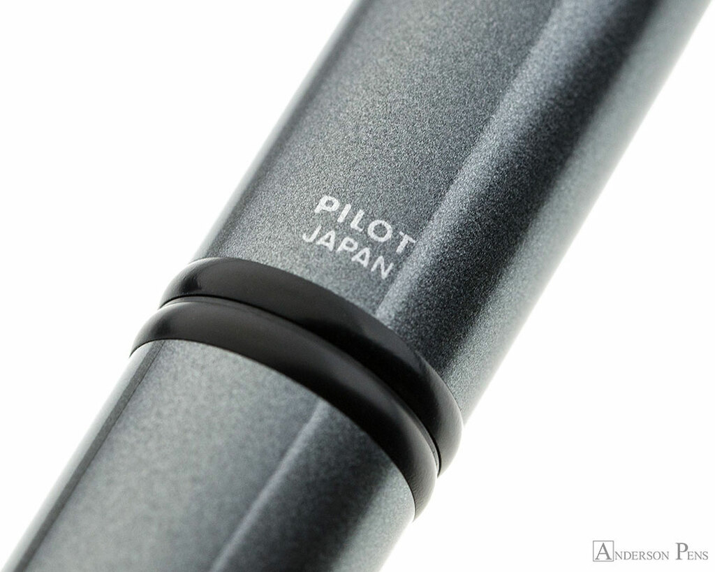 Pilot Vanishing Point Fountain Pen - Gun Metal Gray with Matte Black Trim