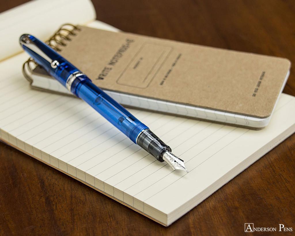 Pilot Custom 74 Fountain Pen - Blue