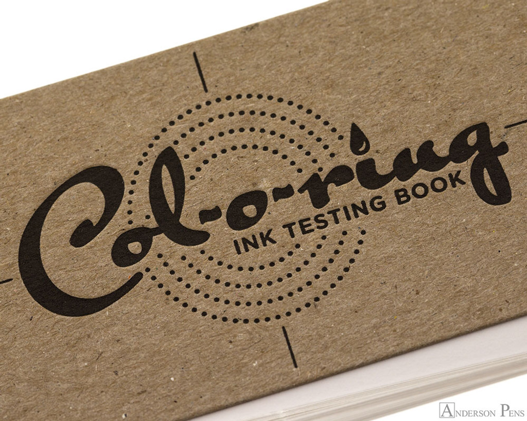 Col-o-ring Ink Testing Book