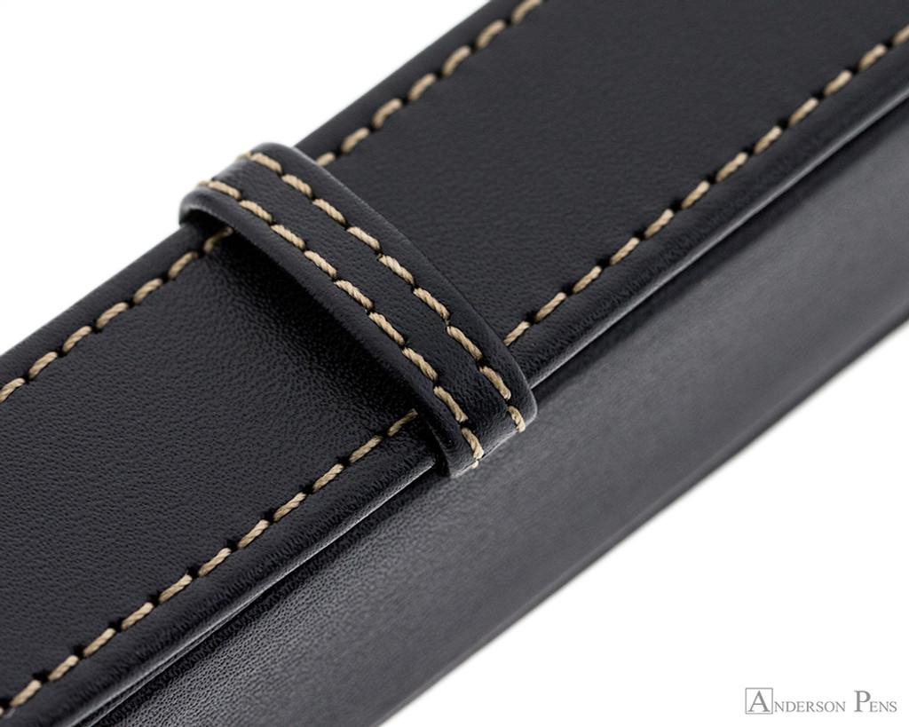 Franklin-Christoph Single Pen Case - Black