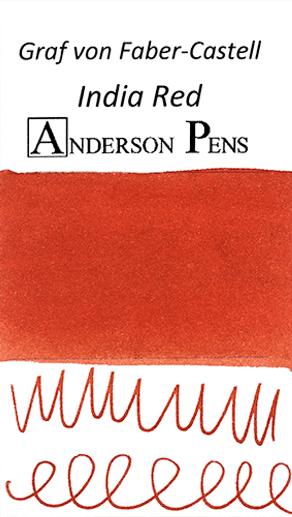 Graf von Faber-Castell India Red Ink Sample (3ml Vial)