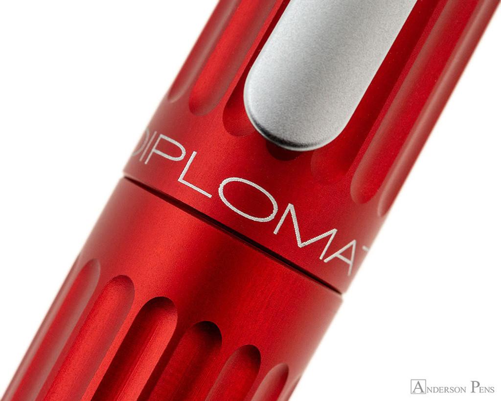 Diplomat Aero Fountain Pen - Red