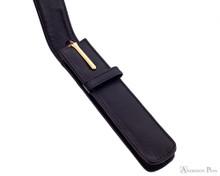 1 Pen Case Black Leather