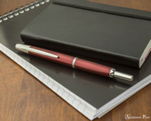 Pilot Vanishing Point Decimo Fountain Pen - Burgundy