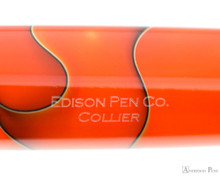 Edison Collier Fountain Pen - Persimmon Swirl