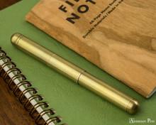 Kaweco Liliput Supra Fountain Pen - Brass
