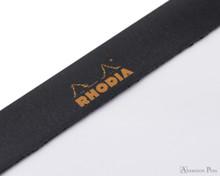 Rhodia No. 18 Notepad - 8.25 x 11.75, Blank Paper - Black
