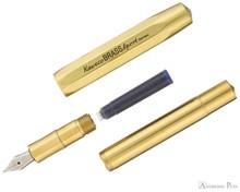 Kaweco Brass Sport Fountain Pen - Raw Brass