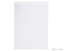 Rhodia Ice No. 18 Notepad - 8.25 x 11.75, Graph Paper - White