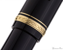 Pilot Falcon Fountain Pen - Black with Gold Trim