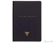 Clairefontaine Flying Spirit Clothbound - Black, A5