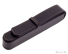 Franklin-Christoph Single Pen Case - Brown