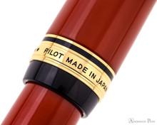 Pilot Custom Urushi Fountain Pen - Vermillion