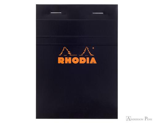 Rhodia No 13 Top Wirebound Notebook 4 X 6 Graph Paper Black