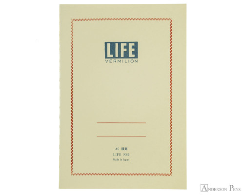 Life Pistachio Notebook A6 4 X 6 Graph Paper Anderson Pens Inc