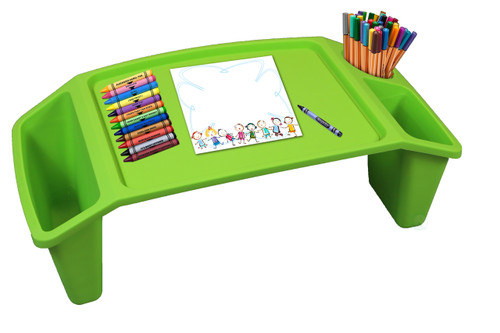 Kids Lap Desk Tray Portable Activity Table Basicwise Com