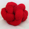 Done Roving Yarn - Frolicking Feet - Crazy for Crimson