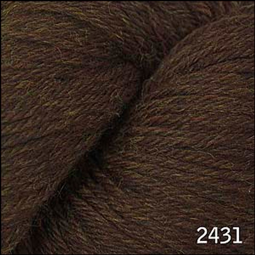 Cascade 220 Yarn - 100% Peruvian Wool - 2431 Chocolate Heather