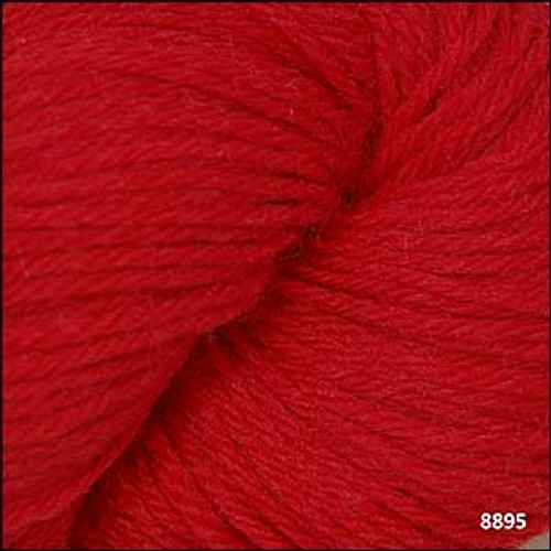 Cascade 220 Yarn - 100% Peruvian Wool - 8895 Christmas Red