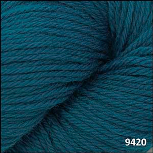 Cascade 220 Yarn - 100% Peruvian Wool - 9420 Como Blue