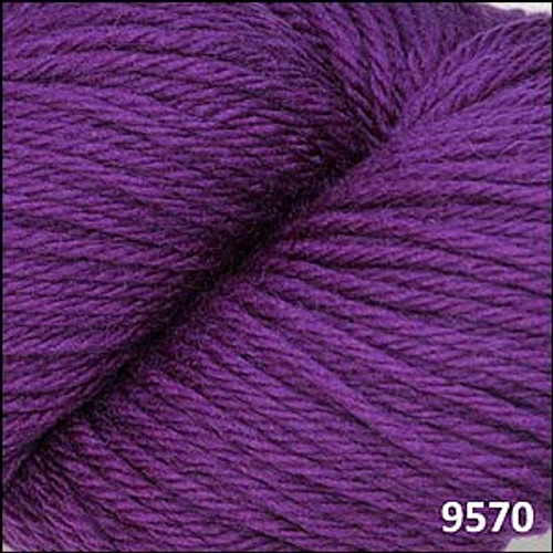 Cascade 220 Yarn - 100% Peruvian Wool - 9570 Concord Grape