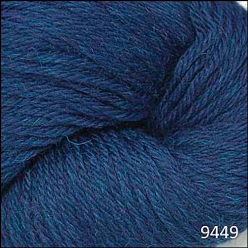 Cascade 220 Yarn - 100% Peruvian Wool - 9449 Midnight Heather