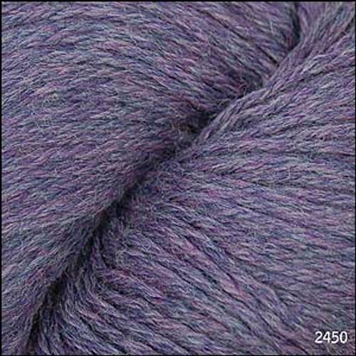 Cascade 220 Yarn - 100% Peruvian Wool - 2450 Mystic Purple