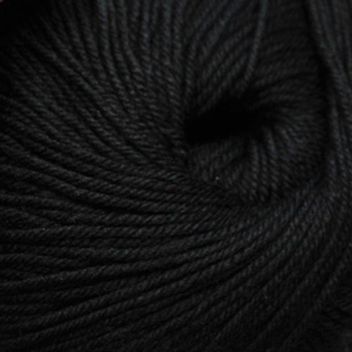 Cascade 220 Superwash Wool Yarn - 815 Black