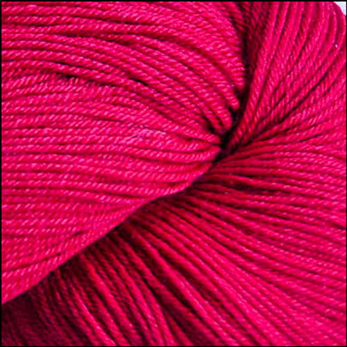 Cascade Heritage Silk Yarn Red #5607