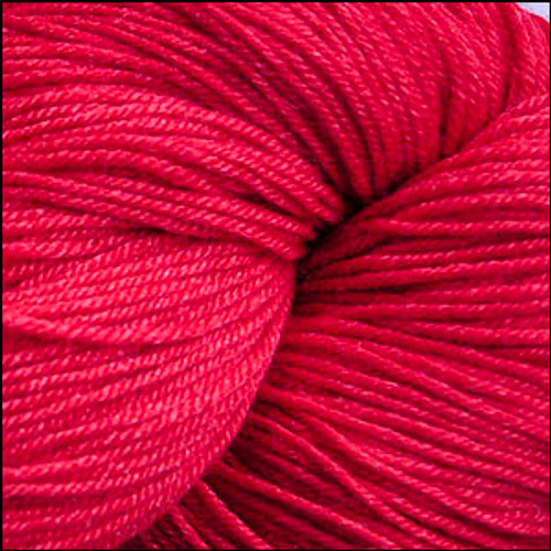 Cascade Heritage Silk Yarn Christmas Red #5619