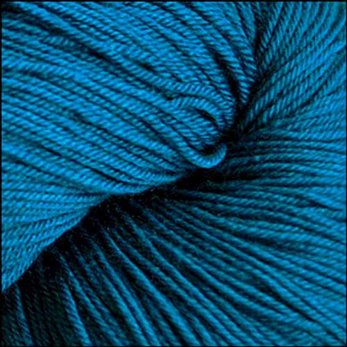 Cascade Heritage Silk Yarn Cerulean #5637
