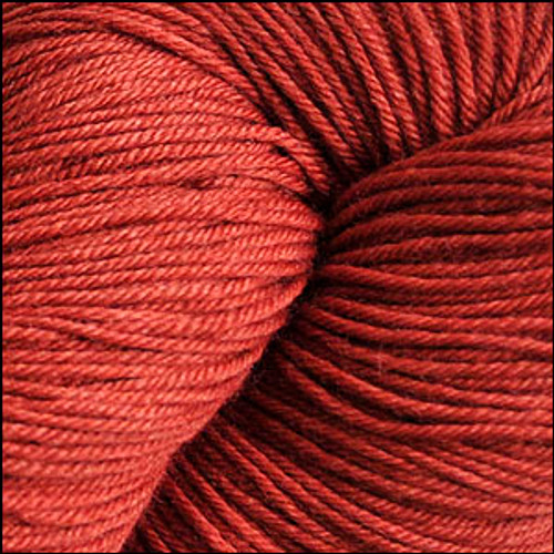 Cascade Heritage Silk Yarn Blood Orange #5642