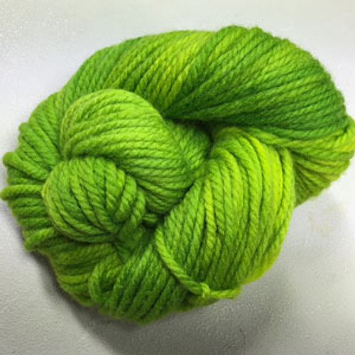 Done Roving Frolicking Feet Chunky Chartreuse Green #45