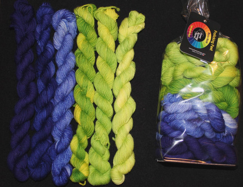 Done Roving Mini Gradients Spring Has Sprung #10